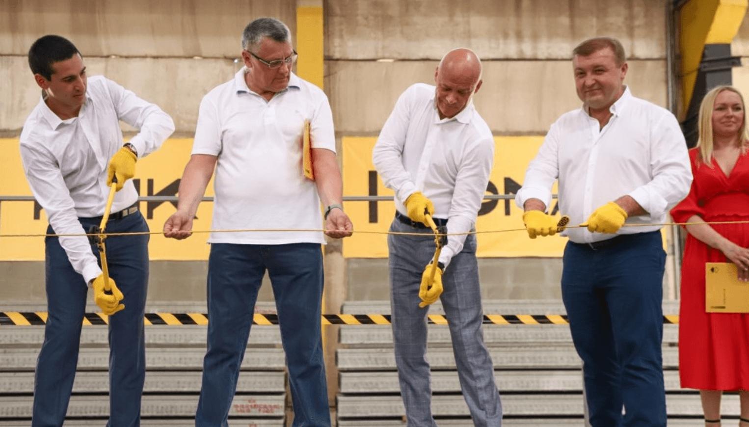 Строительный альянс KONA открыл новое производство