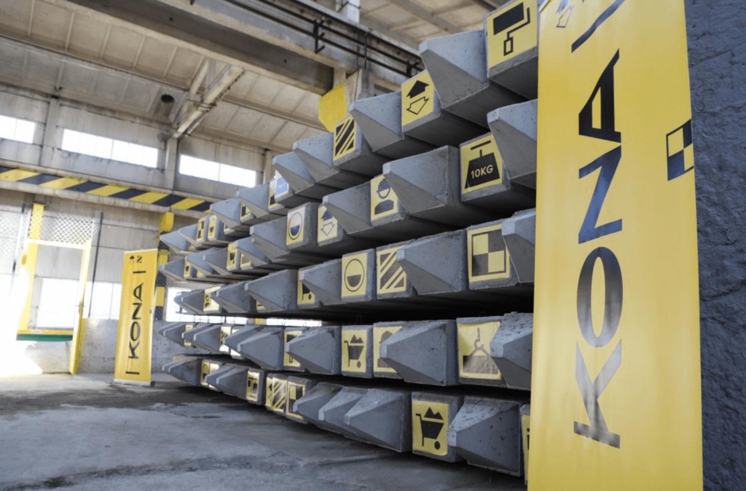 Строительный альянс «KONA» открыл производство пустотных плит по итальянской технологии (новости компаний)